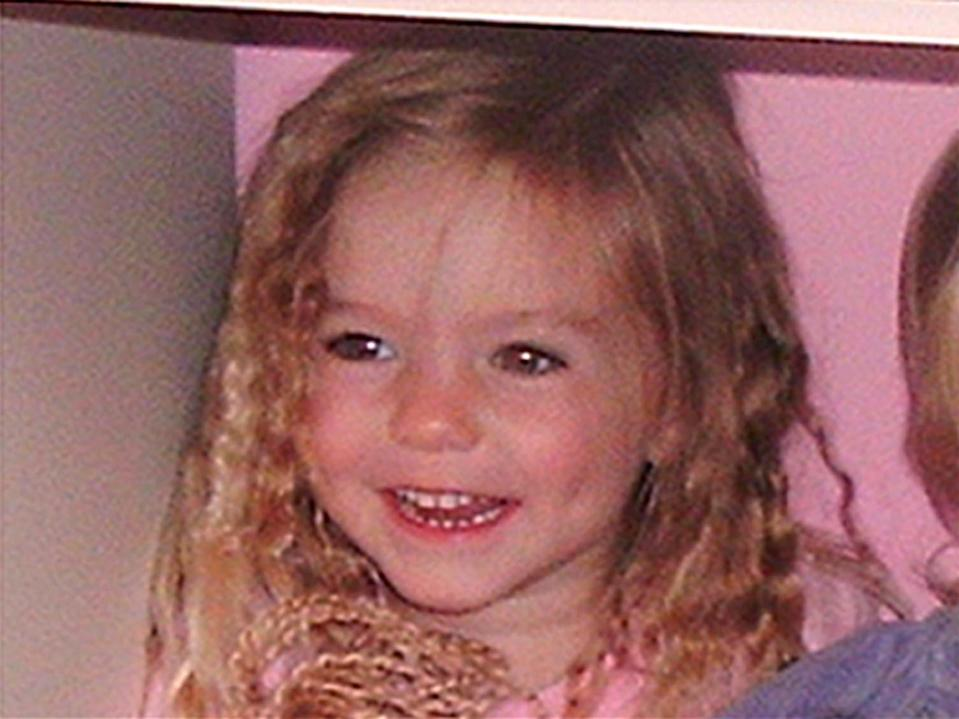 Undated family handout photo of three-year-old Madeleine McCann who went missing while on holiday in Portugal.