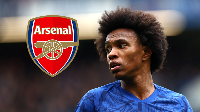 'Willian would be an unbelievable signing for Arsenal' - Chelsea winger is a 'special player', says Merson