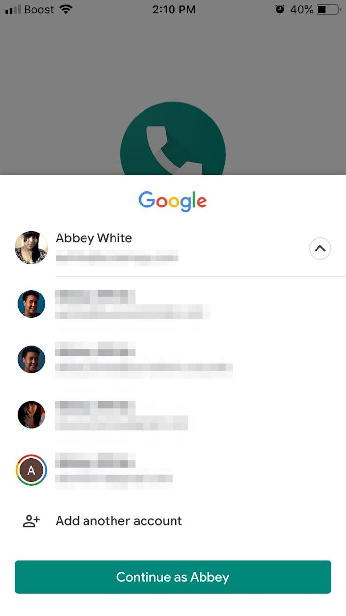 How to link Google Voice to mobile 1