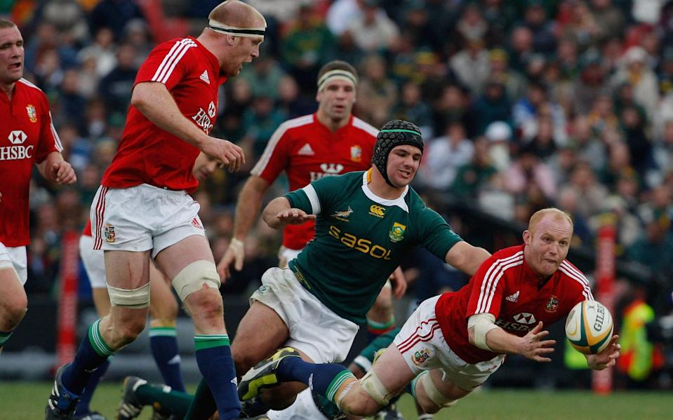 O'Connell captained the Lions in 2009 - GETTY IMAGES