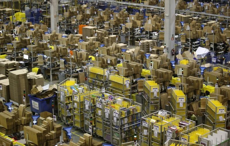 Amazon chalked it up third-quarter its earnings miss to aggressively building out new fulfillment centers and investing heavily in video. Source: Reuters