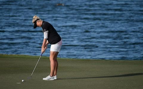 Charley Hull edges to Ladies European Tour event win in Abu Dhabi