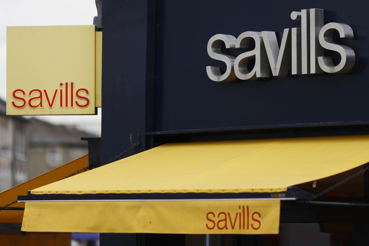 A Savills property estate agent is seen in south London, Britain September 20, 2016.  REUTERS/Stefan Wermuth