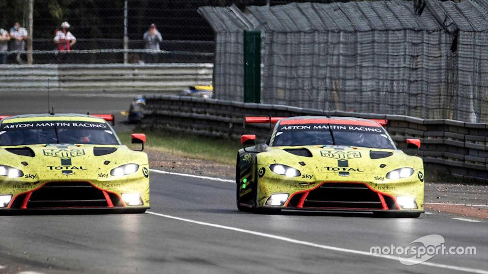 Aston Martin Vantage AMR at 24 Hours of Le Mans 2020