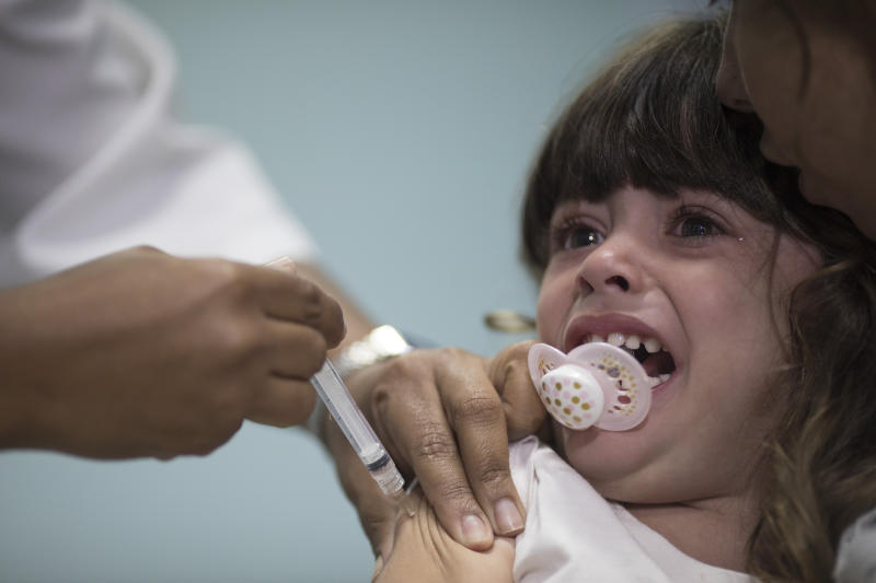 Brazil rushes to thwart measles outbreak from Venezuelans