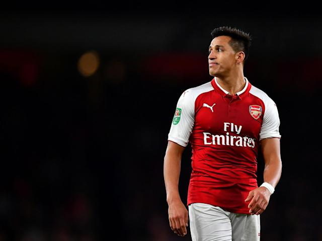 Arsene Wenger insists he's not trying to send a message to Alexis Sanchez