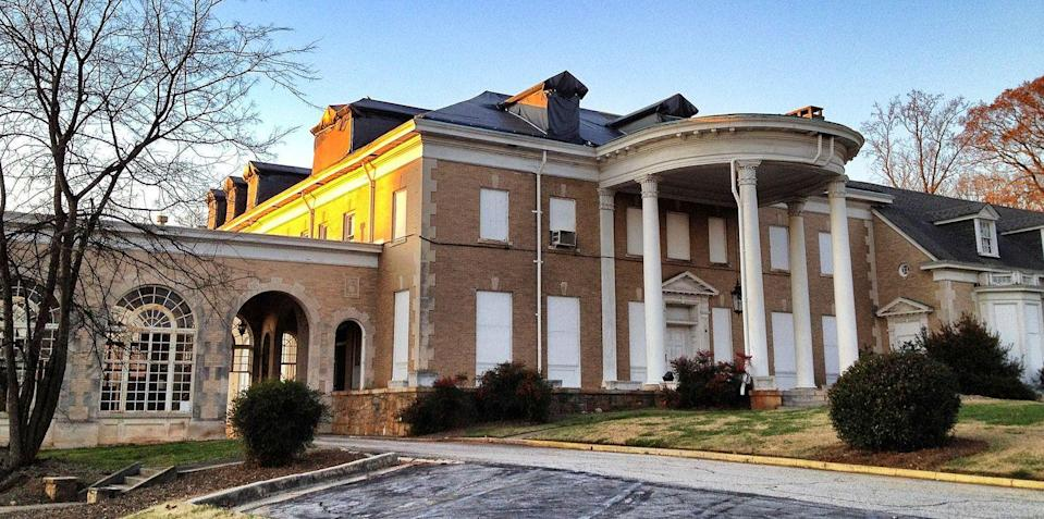 """<p><strong>Briarcliff Mansion - Atlanta, GA</strong></p><p>Built in 1922 by Asa Candler Jr., the grand estate remained his home until 1948 when it then became an alcohol treatment facility. But after a lack of funds, the clinic closed in the 1950s. The mansion is now a part of Emory University, but it remains empty. An <a href=""""http://www.emory.edu/EMORY_REPORT/stories/2011/10/event_briarcliff_abandoned_mansion.html"""" rel=""""nofollow noopener"""" target=""""_blank"""" data-ylk=""""slk:article published in the"""" class=""""link rapid-noclick-resp"""">article published in the </a><em><a href=""""http://www.emory.edu/EMORY_REPORT/stories/2011/10/event_briarcliff_abandoned_mansion.html"""" rel=""""nofollow noopener"""" target=""""_blank"""" data-ylk=""""slk:Emory Report"""" class=""""link rapid-noclick-resp"""">Emory Report</a> </em>notes the estate's paranormal legacy.</p><p>Photo: Wikimedia Commons/<a href=""""https://en.wikipedia.org/wiki/Briarcliff_(mansion)#/media/File:Asa_G._Candler,_Jr._Mansion.JPG"""" rel=""""nofollow noopener"""" target=""""_blank"""" data-ylk=""""slk:Keizers"""" class=""""link rapid-noclick-resp"""">Keizers</a></p>"""
