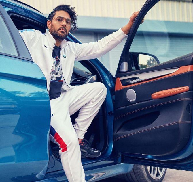 Yuvraj Singh Becomes Face Of Puma Motorsport In India (Photo-Instagram)