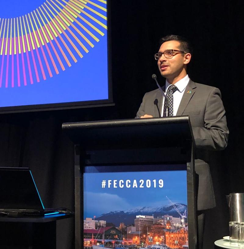 Mohammad Al-Khafaji, CEO of the Federation of Ethnic Community Councils Australia, sees a gap in messaging. (Photo: Twitter/FECCA )