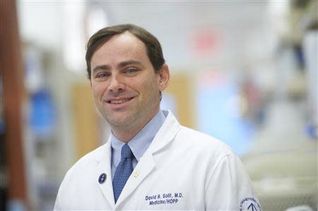 Dr. David Solit is pictured at the Memorial Sloan-Kettering Cancer Center