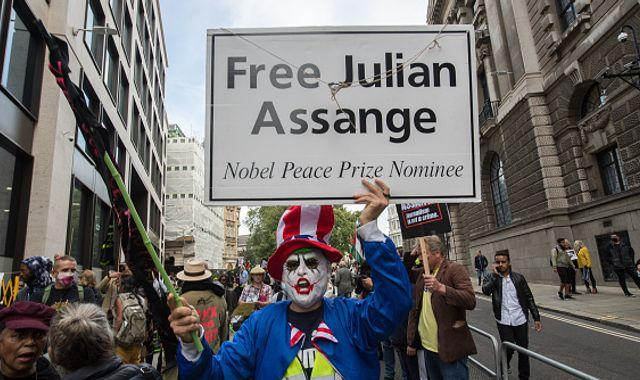 Julian Assange: WikiLeaks founder arrested over 18 new allegations as he appears in court to fight US extradition
