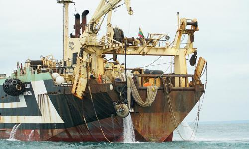 Supertrawlers ramp up activity in UK protected waters during lockdown