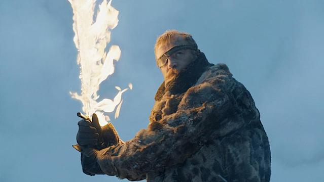 Richard Dormer as Ser Beric in 'Beyond the Wall' (Photo: HBO)