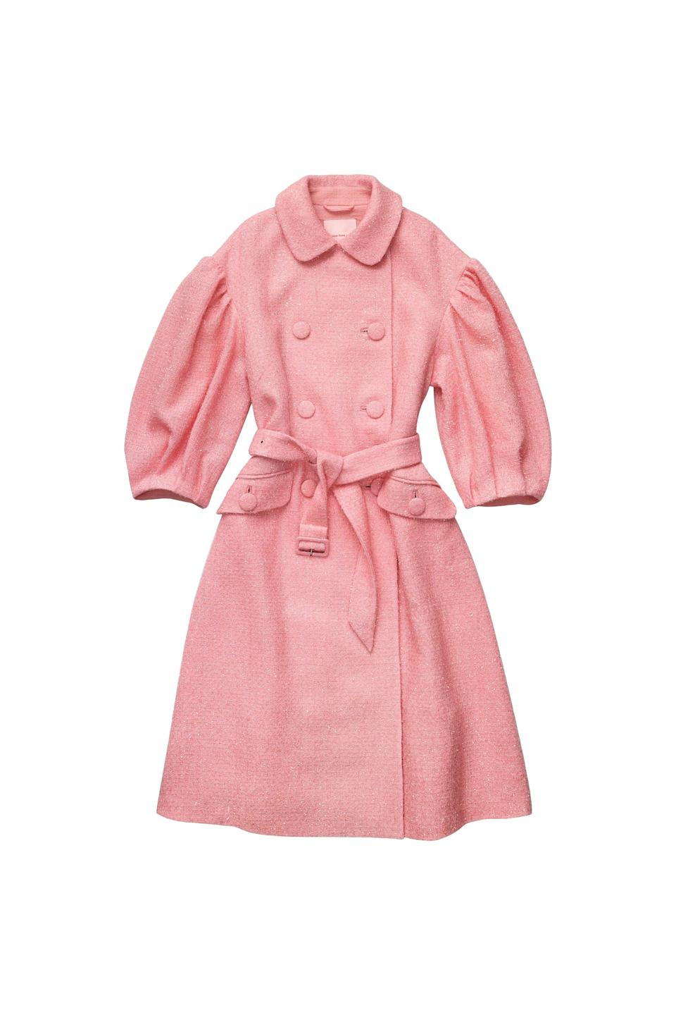 <p><span>Simone Rocha x H&amp;M Tinsel-Detail Tweed Coat</span> ($299).</p>