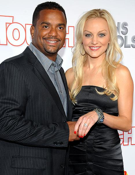 Fresh Prince of Bel Air's Alfonso Ribiero Weds Angela Unkrich
