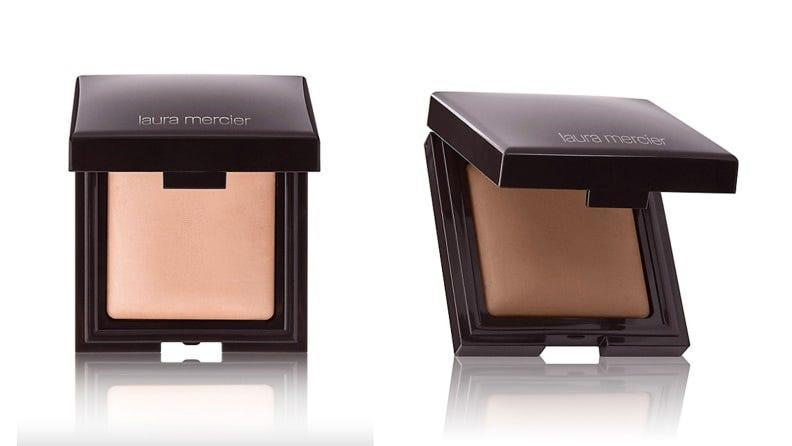 Go with the Laura Mercier Candleglow Sheer Perfecting Powder for a hint of shimmer on the high points of your face.