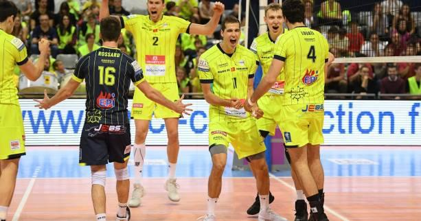 Volley - Ligue A (H) - Toulouse remporte le match retour à Nice et accède la finale de Ligue A
