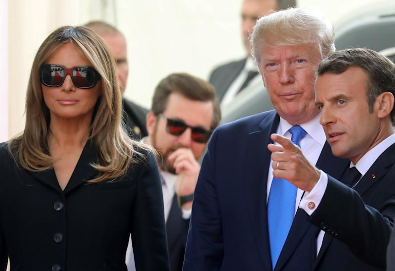 Online users everywhere are convinced that fake Melania is back in the building. Photo: Getty Images