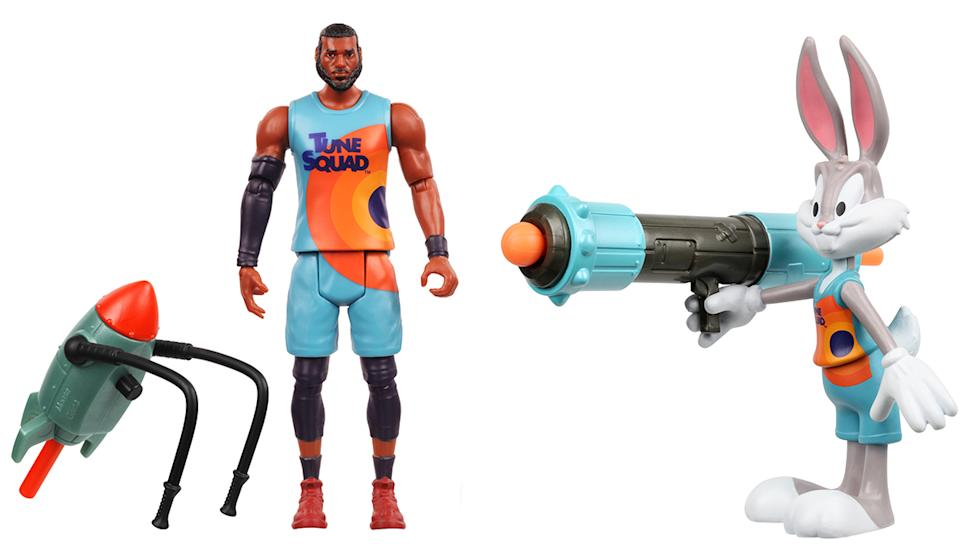 Finally, action figures worthy of the legendary franchise that is Space Jam. (Photo: Walmart)