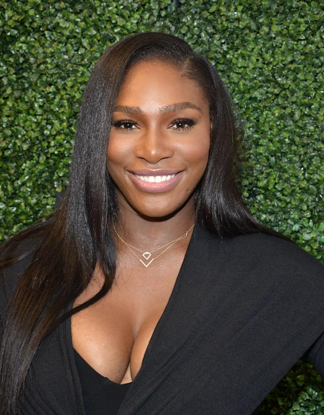 Tennis star Serena Williams in New York City. (Photo: Getty)