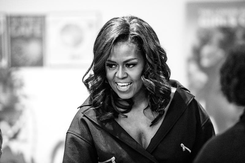 Michelle Obama shocks NYC crowd with use of the S*** word