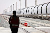 The UAE hopes the rail network's supply chain will help diversify its oil-dependent economy