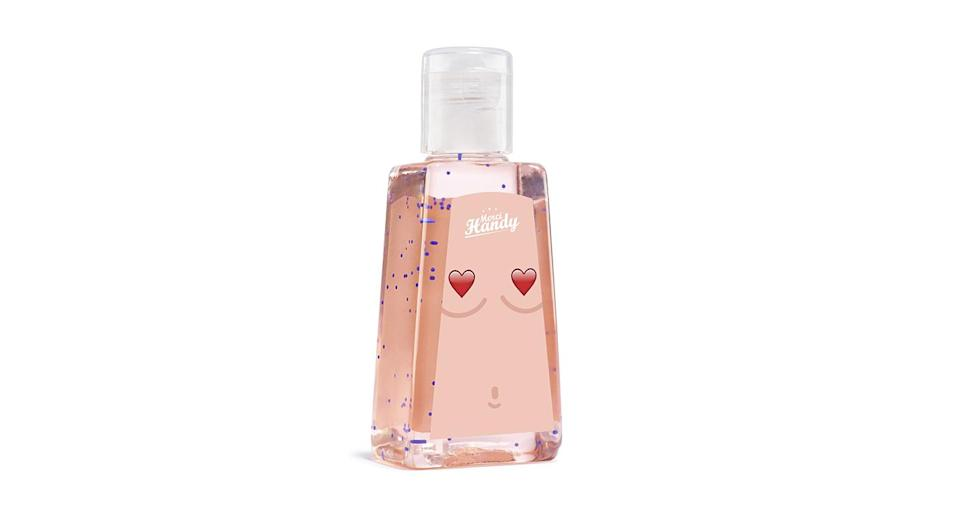 <p>Merci Handy has teamed up with breast cancer awareness charity CoppaFeel! to create a limited edition hand gel (£2.90). Every penny of the proceeds from the Lollipop scented gel will be donated to the charity throughout October helping raise vital funds and awareness. </p>