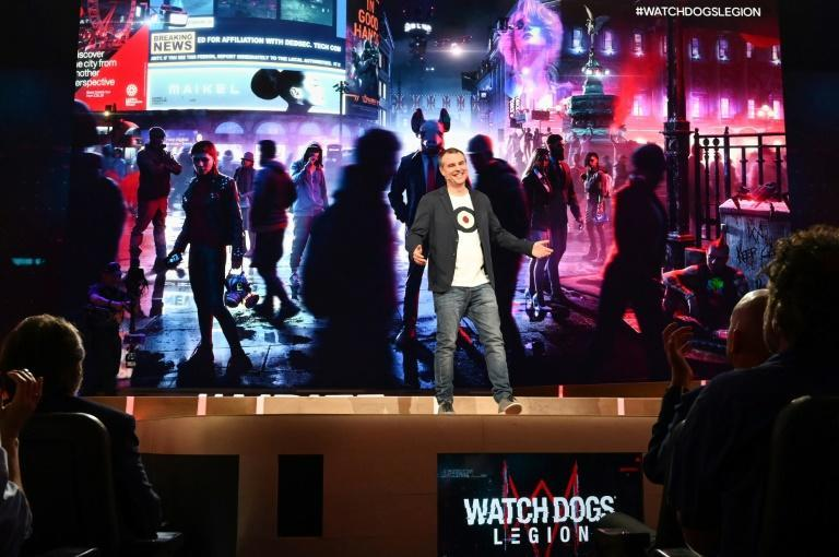 """Ubisoft's Clint Hocking says the political content in """"Watch Dogs: Legion"""" isn't an anti-Brexit message"""