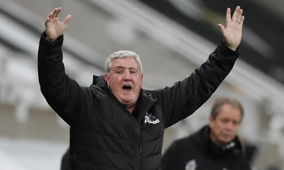 Steve Bruce was unable to inspire his Newcastle side to find an equaliser.