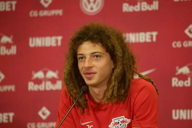 Welsh international Ethan Ampadu is the latest young British player to try his luck in the Bundesliga (AFP Photo/Johannes Stein)