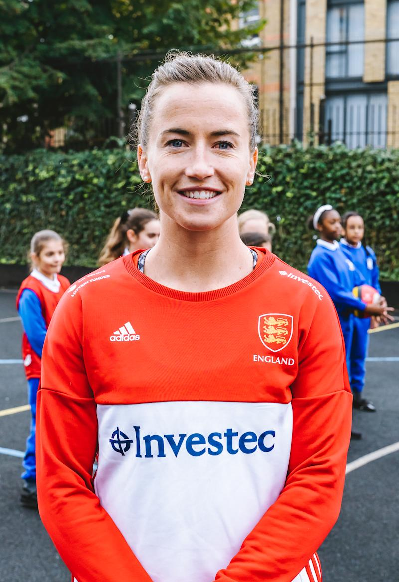 Maddie Hinch won gold with Great Britain at the 2016 Rio Olympics