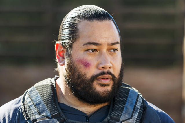Cooper Andrews as Jerry in AMC's <em>The Walking Dead</em>. (Photo: Gene Page/AMC)