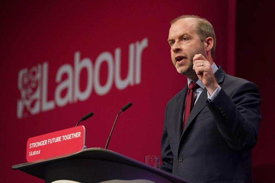 Shadow work and pensions secretary Jonathan Reynolds (Gareth Fuller/PA) (PA Wire)