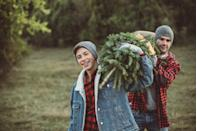 <p>You just can't beat the smell of a fresh-cut tree and taking a day trip to a Christmas tree farm makes some lasting memories, too. Bundle up, turn up the holiday tunes, pack a thermos of cocoa and make a whole day of it. </p>