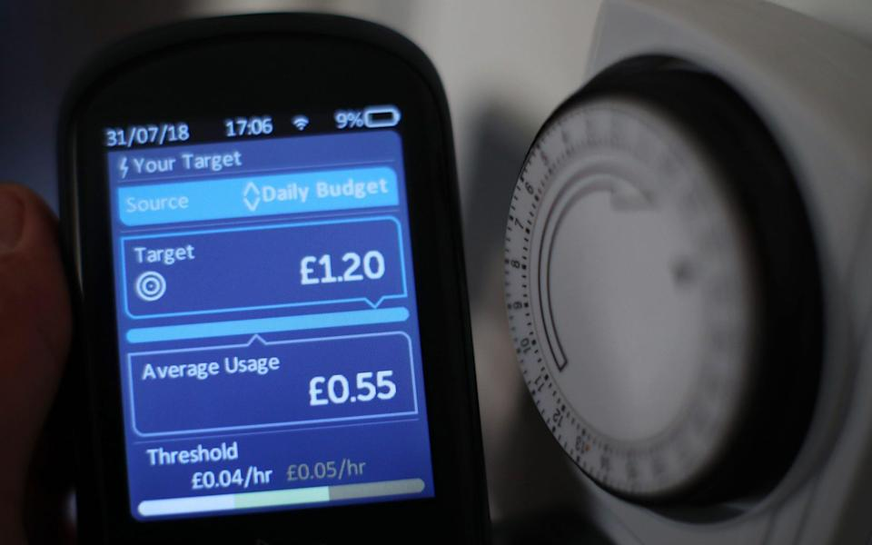 energy meter gas prices - Yui Mok/PA Wire