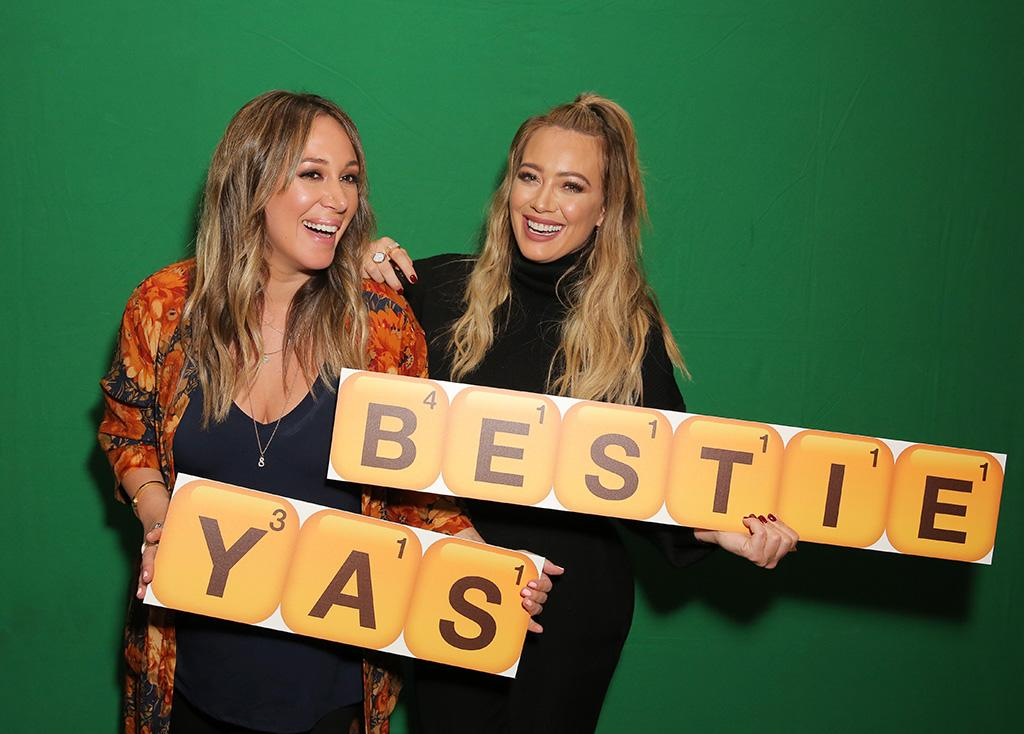 "<p>Can you spell ""inseparable""? The sisters attend the Launch of Words With Friends 2 at Norah Restaurant in West Hollywood on Thursday, where they showed off their stellar gaming abilities. (Photo: Rachel Murray/Getty Images for Words with Friends 2) </p>"