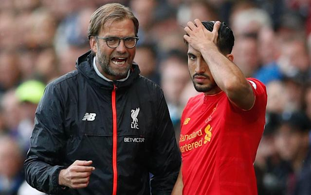 Jürgen Klopp, the Liverpool manager, is happy with Germany international midfielder Emre Can whose contract expires at the end of the 2017/18 season - Action Images
