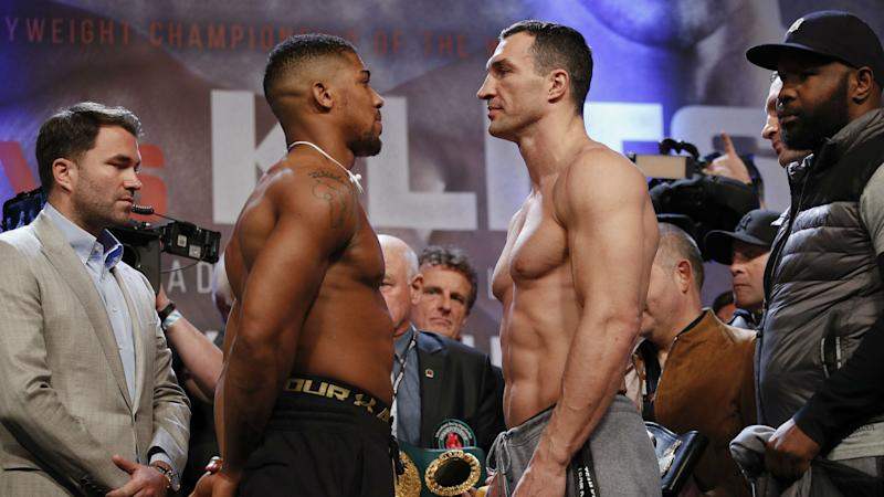 Anthony Joshua stops Wladimir Klitschko to become unified champion in fight for the ages