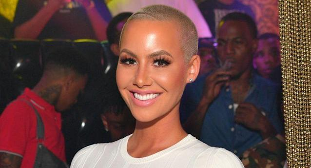 Amber Rose says she wants breast reduction surgery. (Photo: Getty Images)
