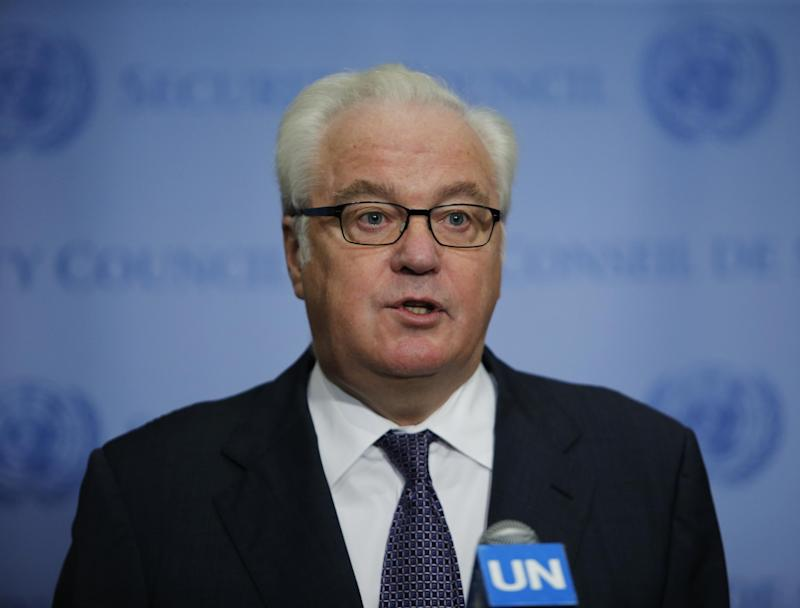 Russian Ambassador to the UN Vitaly Churkin died unexpectedly in New York: AFP/Getty Images