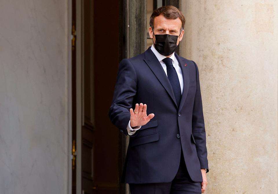 Le Président Emmanuel Macron, à Paris, le 29 avril 2021 (Photo: LUDOVIC MARIN via AFP)