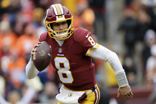 Kirk Cousins will likely sign a record-setting contract in free agency. (QB)