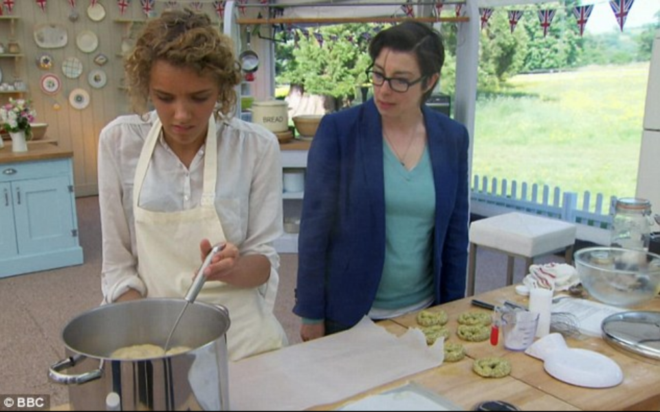 """<p>After your application is selected, all perspective bakers are asked to schedule a <a href=""""https://www.radiotimes.com/news/tv/2019-08-27/how-to-apply-for-the-great-british-bake-off-2020/"""" rel=""""nofollow noopener"""" target=""""_blank"""" data-ylk=""""slk:phone interview"""" class=""""link rapid-noclick-resp"""">phone interview</a> and later an in-person interview.</p>"""