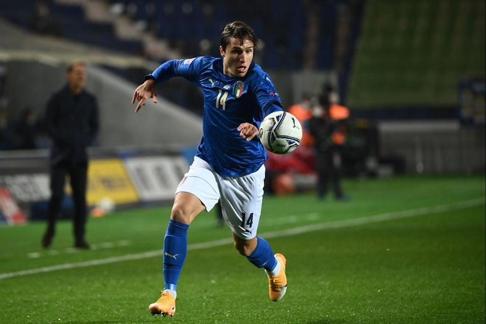 Federico Chiesa has been in fantastic form for Italy and Juventus  (AFP via Getty Images)