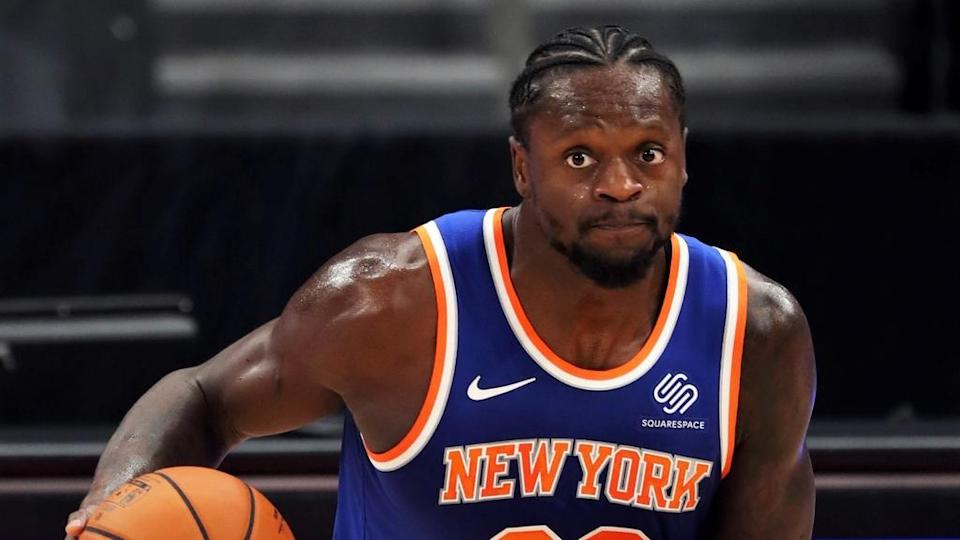 New York Knicks forward Julius Randle vs Toronto Raptors