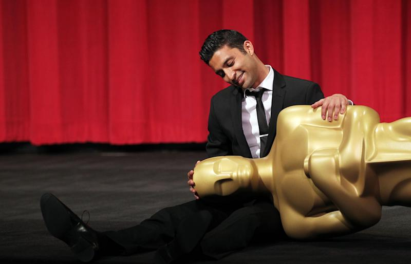 39th Annual Student Academy Awards narrative category winner Justin Tipping poses for a photo at the Academy of Motion Picture Arts and Sciences, Saturday, June 9, 2012, in Beverly Hills, Calif. (Photo by Matt Sayles/Invision/AP)