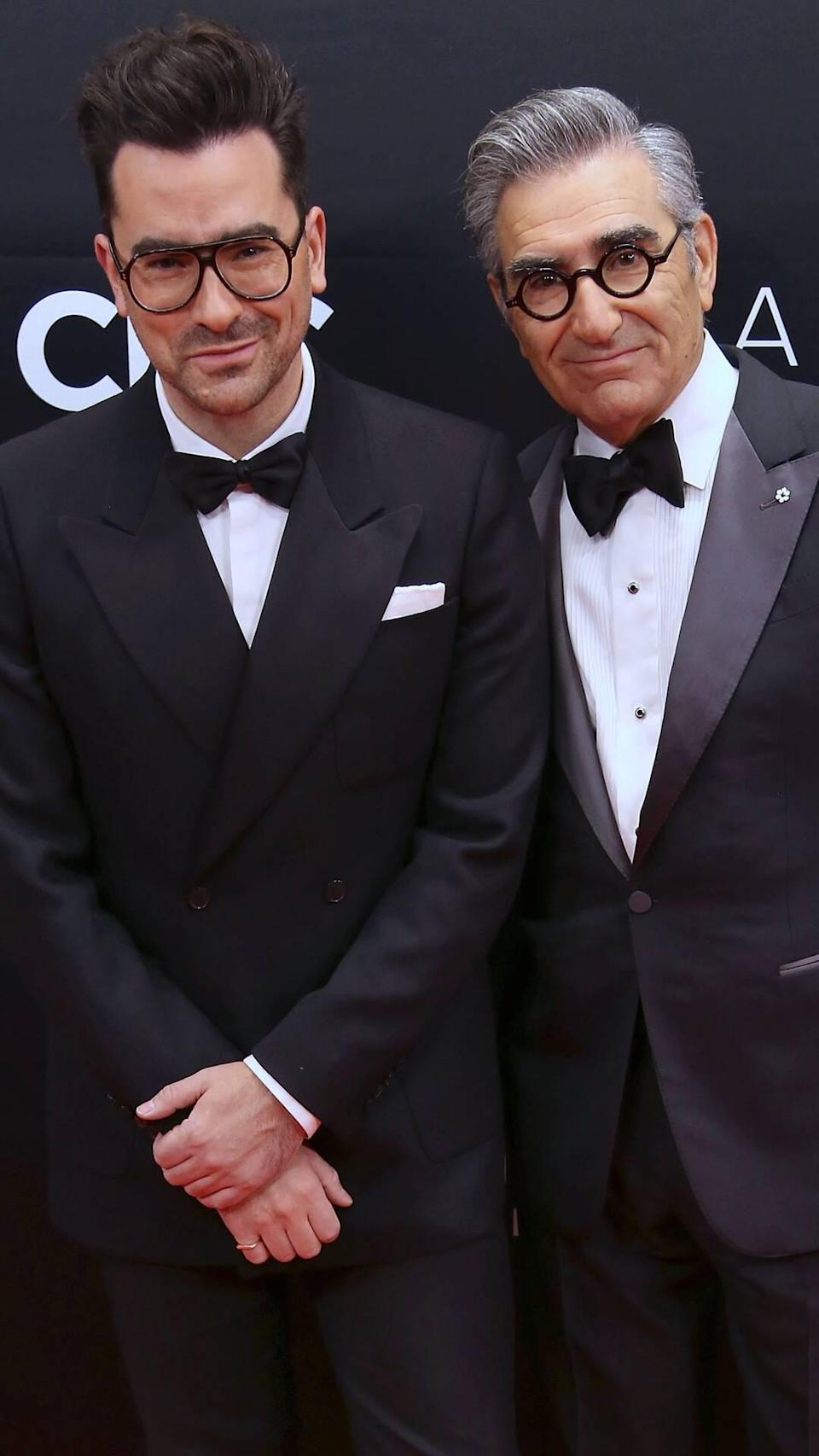 Dan Levy, Eugene Levy, 2019 Canadian Screen Awards Broadcast Gala