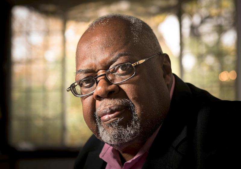 Sala Udin at his Pittsburgh home. (copyright 2016 Pittsburgh Post-Gazette. Used with permission.)