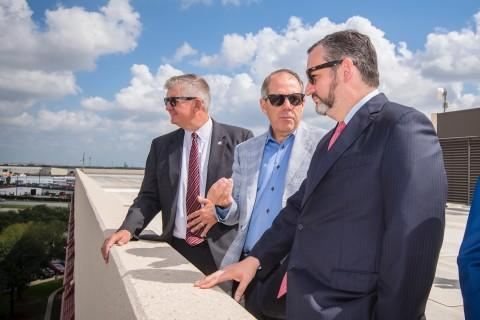 Sen. Ted Cruz Supports Houston Ship Channel Expansion Project