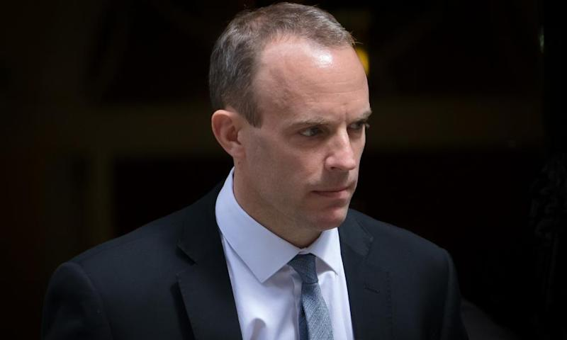 Dominic Raab, the new Brexit secretary, is said to be taking a hands-on approach to preparations for no deal.